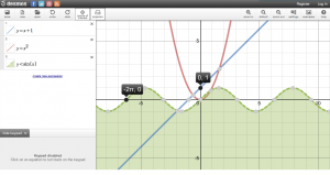 Desmos Calculator, courtesy of Desmos.com.