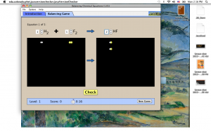 PhET: Balancing Chemical Equations