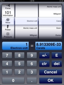 Free Graphing Calculator - Units Conversion