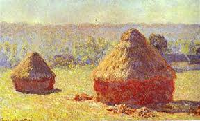 "Claude Monet, ""Haystacks"" (1891)."